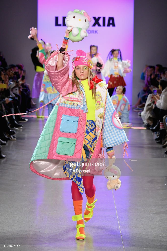 Leaf Xia NYFW FW19 Fashion Show : News Photo