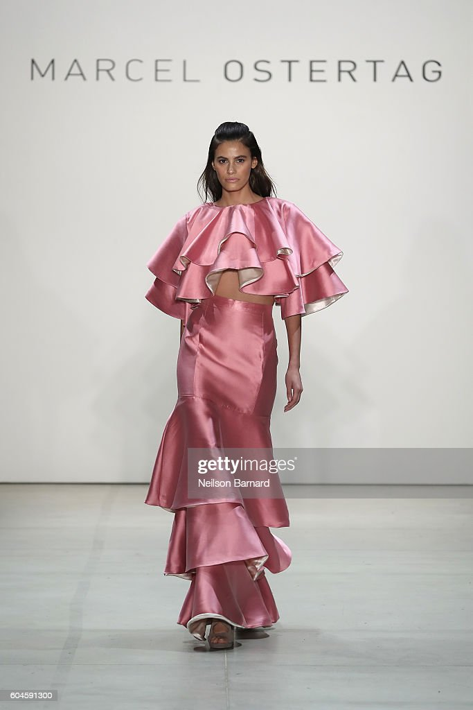 NY: Marcel Ostertag - Runway - September 2016 - New York Fashion Week: The Shows