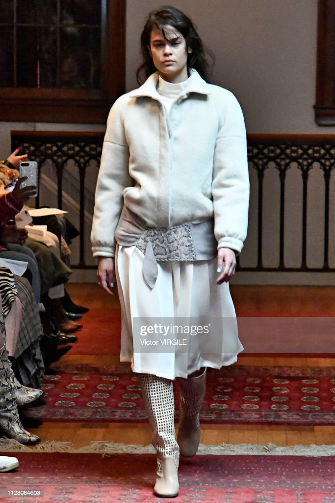 Maryam Nassir Zadeh - Runway - February 2019 - New York Fashion Week : ニュース写真