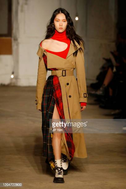 A model walks the runway for the Monse fashion show during February 2020 New York Fashion Week The Shows on February 07 2020 in New York City
