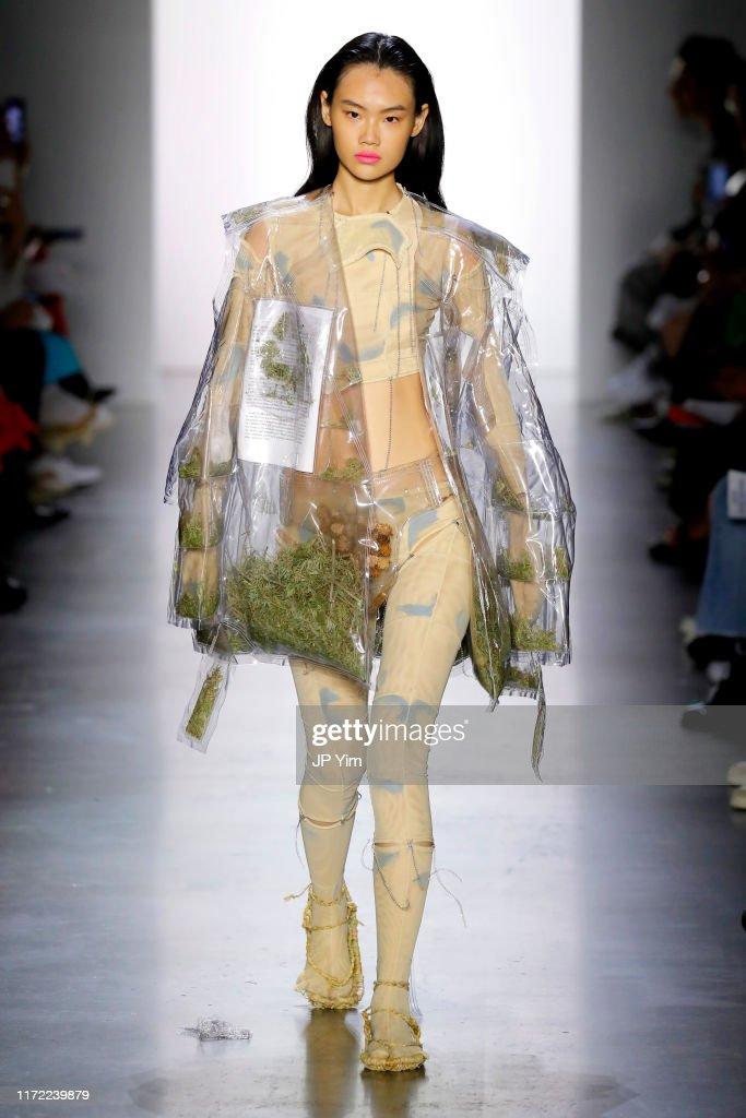 Parsons MFA - Runway - September 2019 - New York Fashion Week: The Shows : News Photo