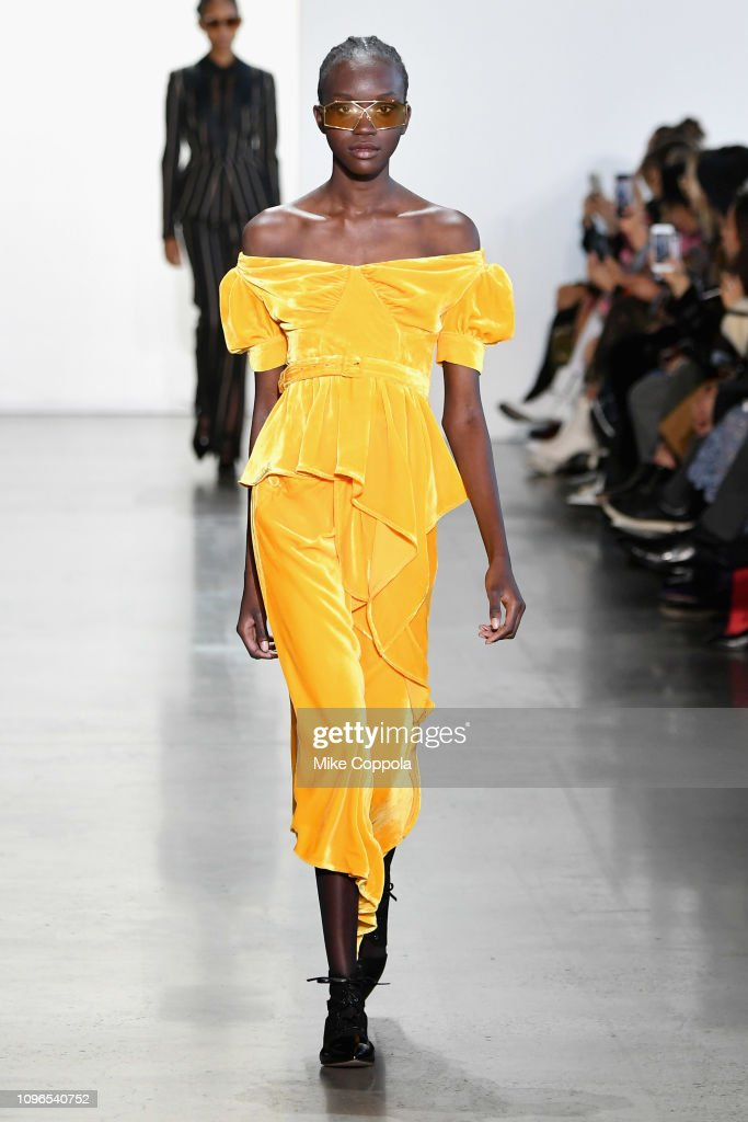 Self-Portrait - Runway - February 2019 - New York Fashion Week: The Shows : News Photo