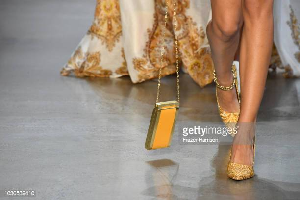 A model walks the runway for Zimmermann during New York Fashion Week The Shows at Gallery I at Spring Studios on September 10 2018 in New York City