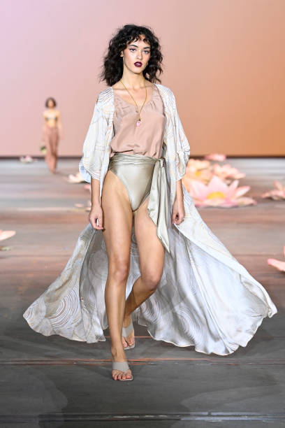 AUS: Indigenous Fashion Projects - Runway - Afterpay Australian Fashion Week 2021