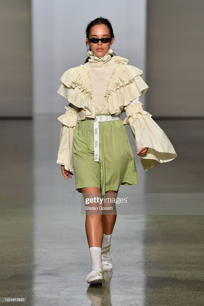 New Generation Show - Runway - New Zealand Fashion Week 2018 : News Photo