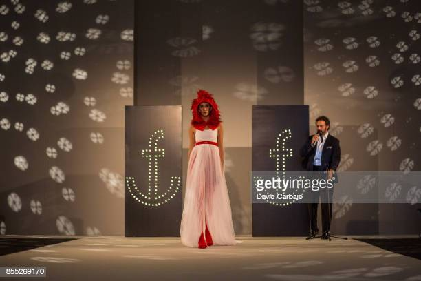 A model walks the runway on the fourth day of Code 41 Trending Day with designs by Patricia Bazarot on September 28 2017 in Seville Spain