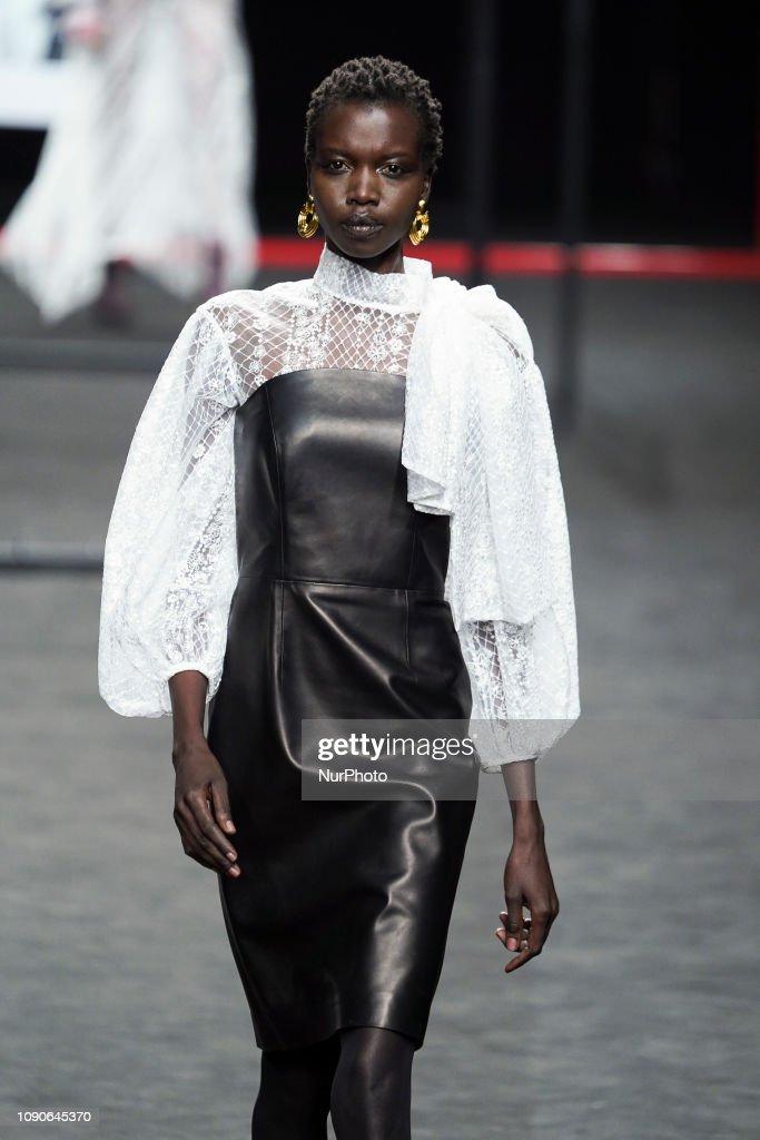 Miguel Marinero - Catwalk - Mercedes Benz Fashion Week Madrid Autumn/Winter 2019-20 : News Photo