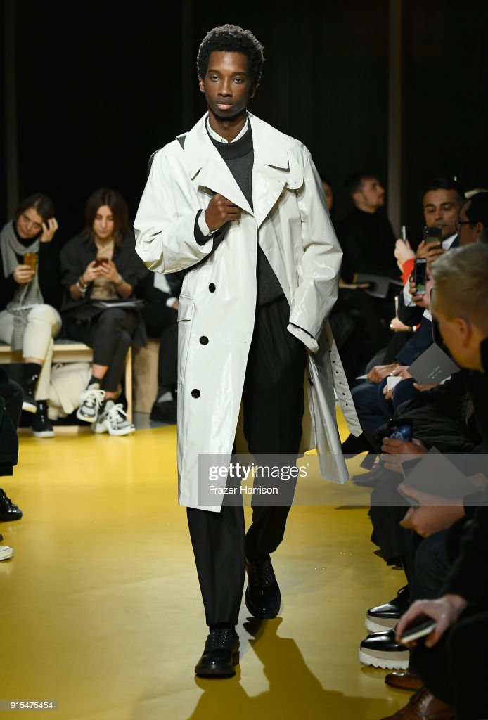 BOSS Menswear - Runway - February 2018 - New York Fashion Week Mens' : News Photo