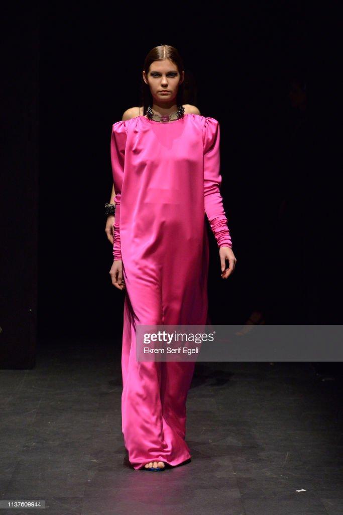 TUR: Gulcin Cengel - Runway - Mercedes-Benz Fashion Week Istanbul - March 2019