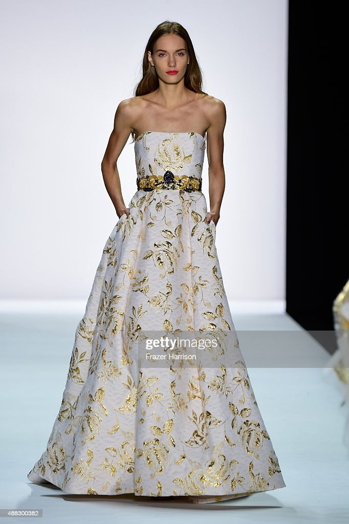 Badgley Mischka - Runway - Spring 2016 New York Fashion Week: The ...