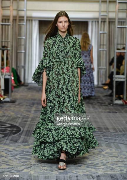 A model walks the runway wearing Giambattista Valli at the HBC Foundation presentation of Haute Affair in support of the Dotsa Bitove Wellness...