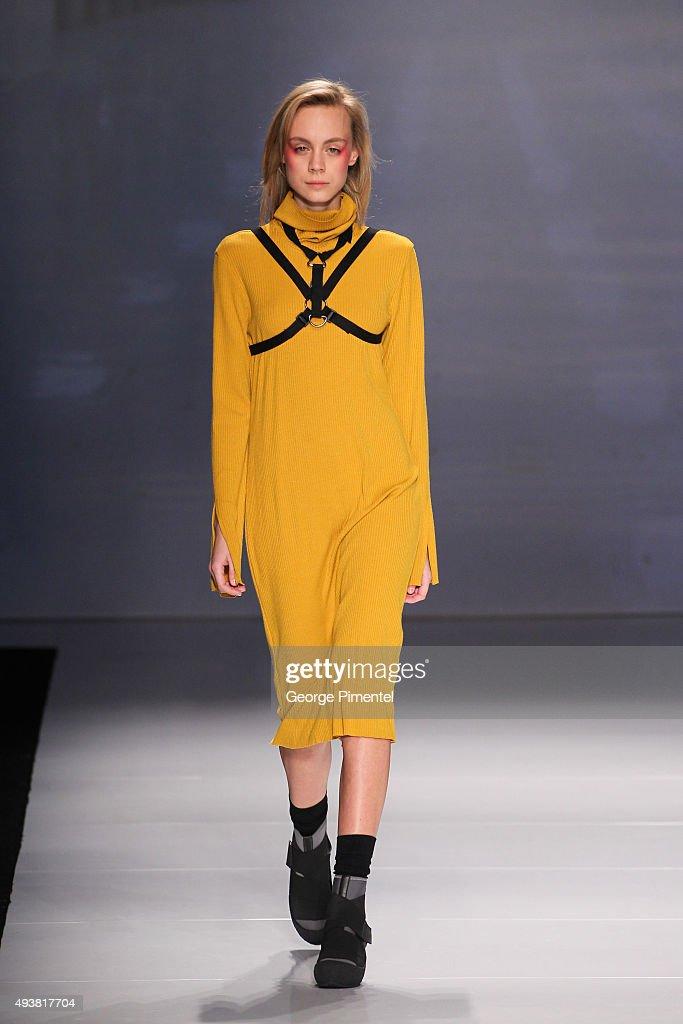 World MasterCard Fashion Week Spring 2016 Collections In Toronto - Hong Kiyoung - Runway : News Photo