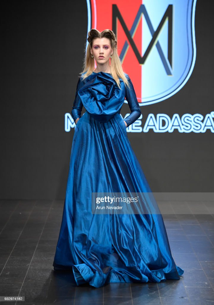 Madamme Adassa  at Los Angeles Fashion Week Powered by Art Hearts Fashion LAFW FW/18 10th Season Anniversary