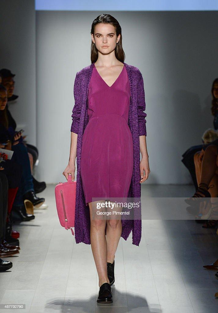 World MasterCard Fashion Week Spring 2015 Collections In Toronto - Malorie Urbanovitch - Presentation : News Photo