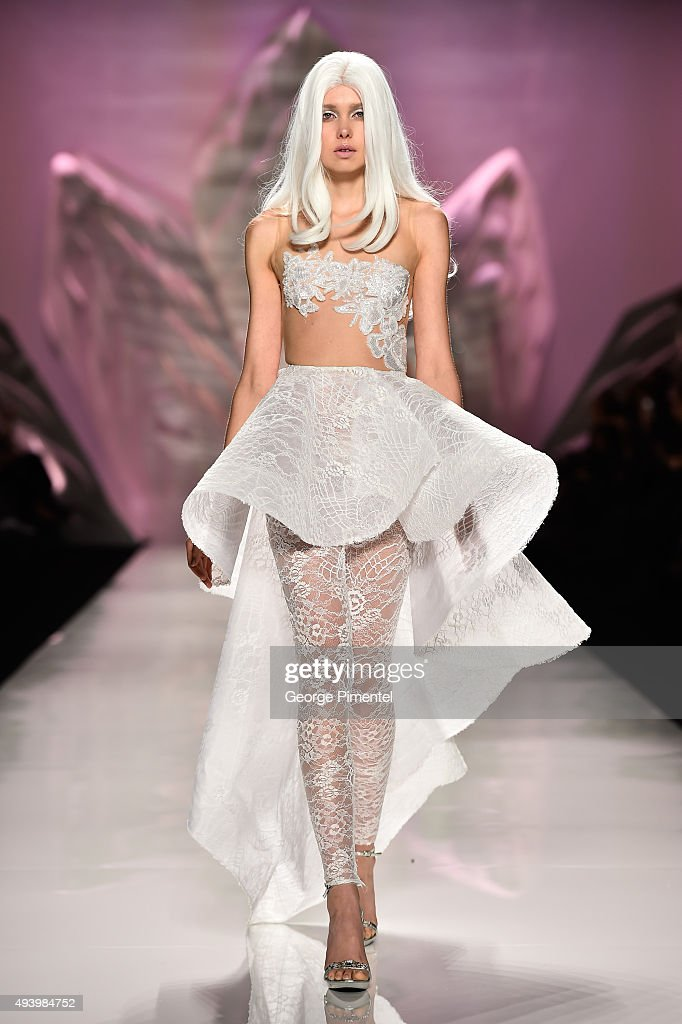 World MasterCard Fashion Week Spring 2016 Collections In Toronto - Mikael D - Runway : News Photo