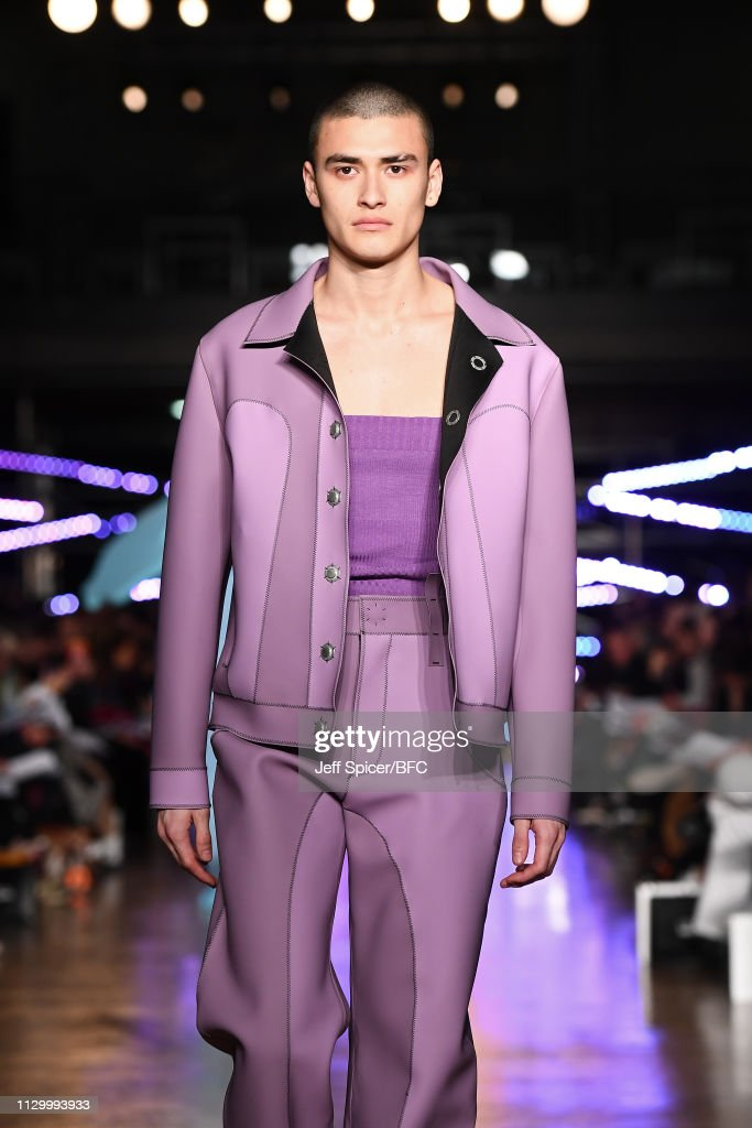 GBR: Central Saint Martins MA - Runway - LFW February 2019