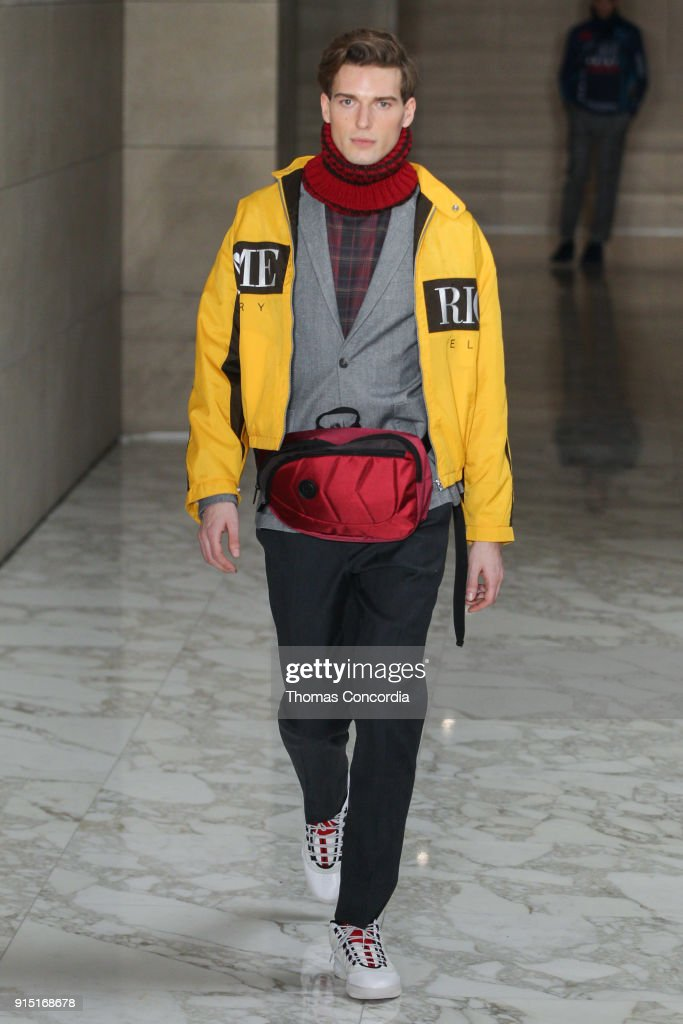 Perry Ellis - Runway - February 2018 - New York Fashion Week Mens' : Fotografía de noticias