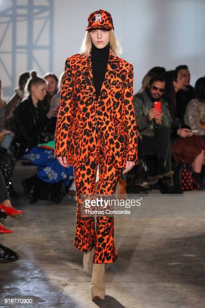 A model walks the runway wearing R13 Fall 2018 on February 10 2018 in New York City