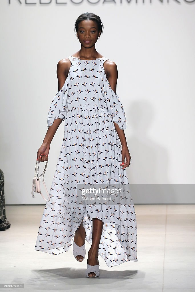 Rebecca Minkoff - Runway - spring 2016 New York Fashion Week: The Shows : News Photo