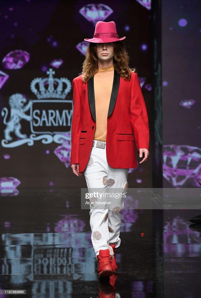CA: Sarmy at Los Angeles Fashion Week FW/19 Powered by Art Hearts Fashion