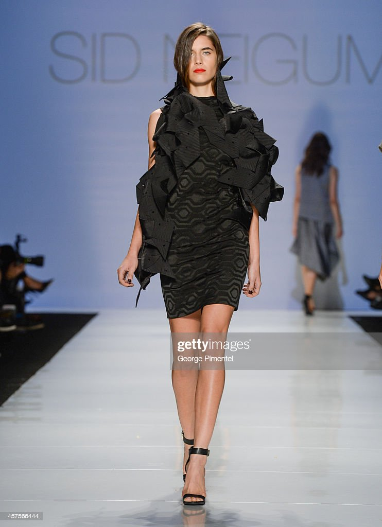World MasterCard Fashion Week Spring 2015 Collections In Toronto - Mercedes-Benz Start Up Presents: Beaufille, Eliza Faulkner, BLAK.I, Vaiken, Laura Siegel, Sid Neigum - Runway : News Photo