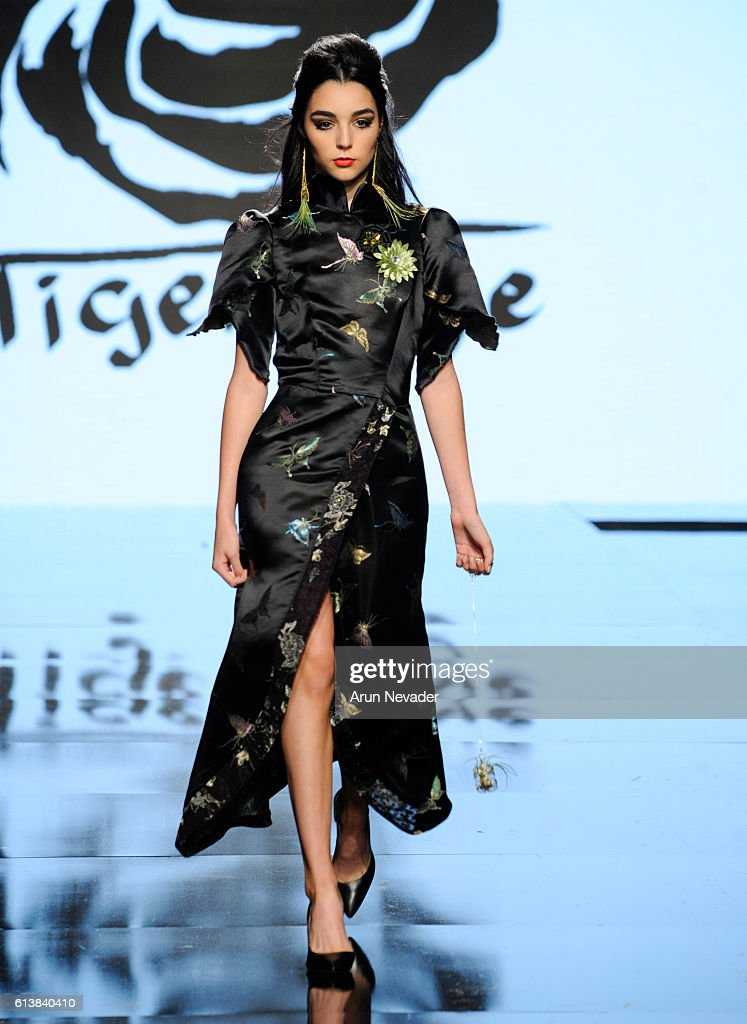 Tigers Eye Clothing at Art Hearts Fashion Los Angeles Fashion Week Presented by AIDS Healthcare Foundation : News Photo