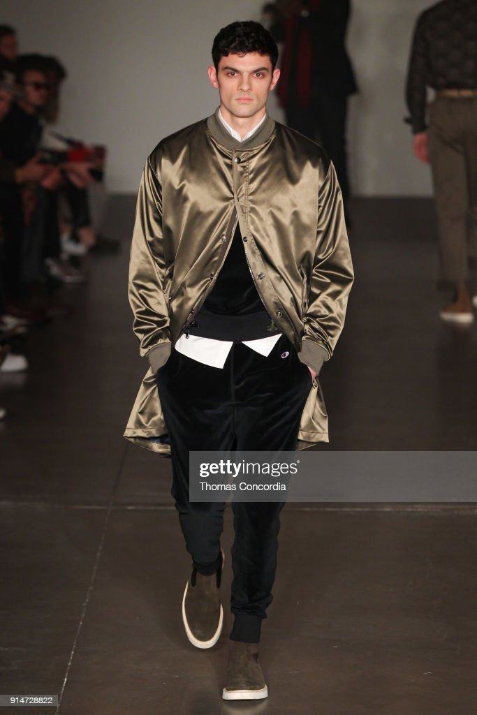 Todd Snyder - Runway - February 2018 - New York Fashion Week: Mens' : News Photo