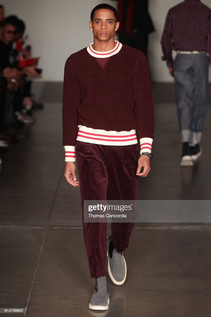 Todd Snyder - Runway - February 2018 - New York Fashion Week: Mens' : Fotografía de noticias