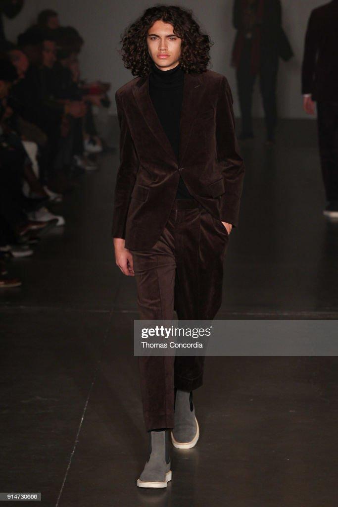 Todd Snyder - Runway - February 2018 - New York Fashion Week: Mens' : ニュース写真