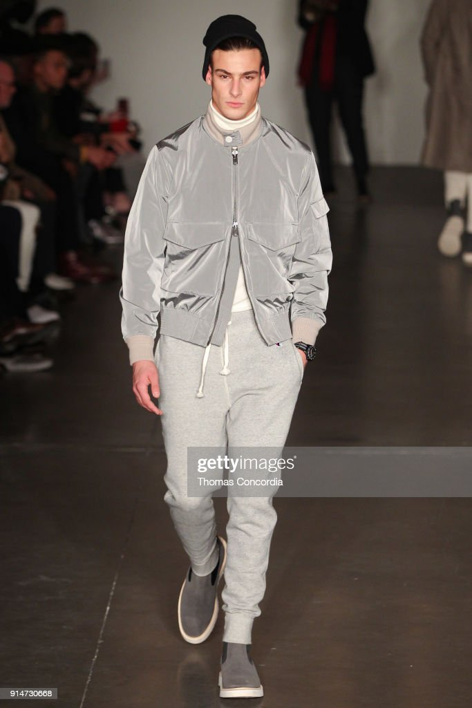 Todd Snyder - Runway - February 2018 - New York Fashion Week: Mens' : News Photo