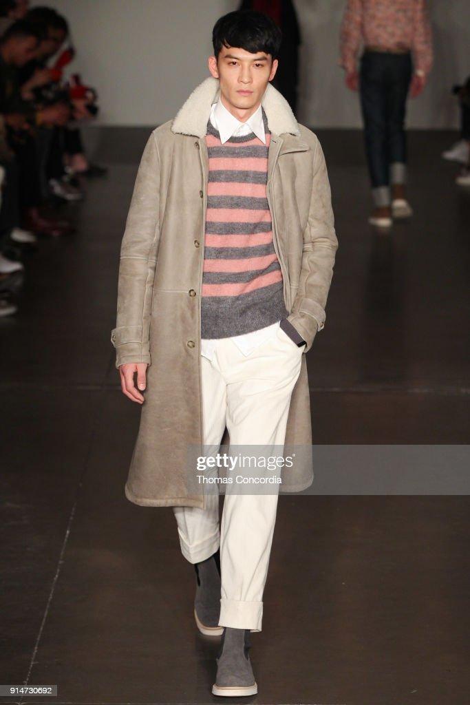 Todd Snyder - Runway - February 2018 - New York Fashion Week: Mens' : Nachrichtenfoto