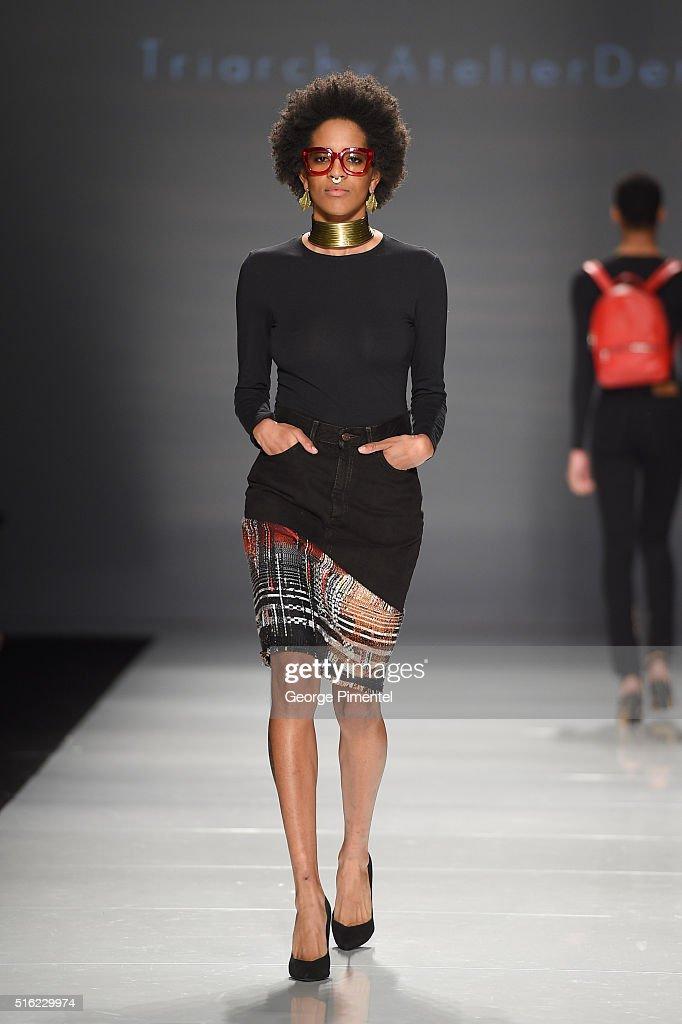 Toronto Fashion Week Fall 2016 Collections - TRIARCHY - Runway : News Photo