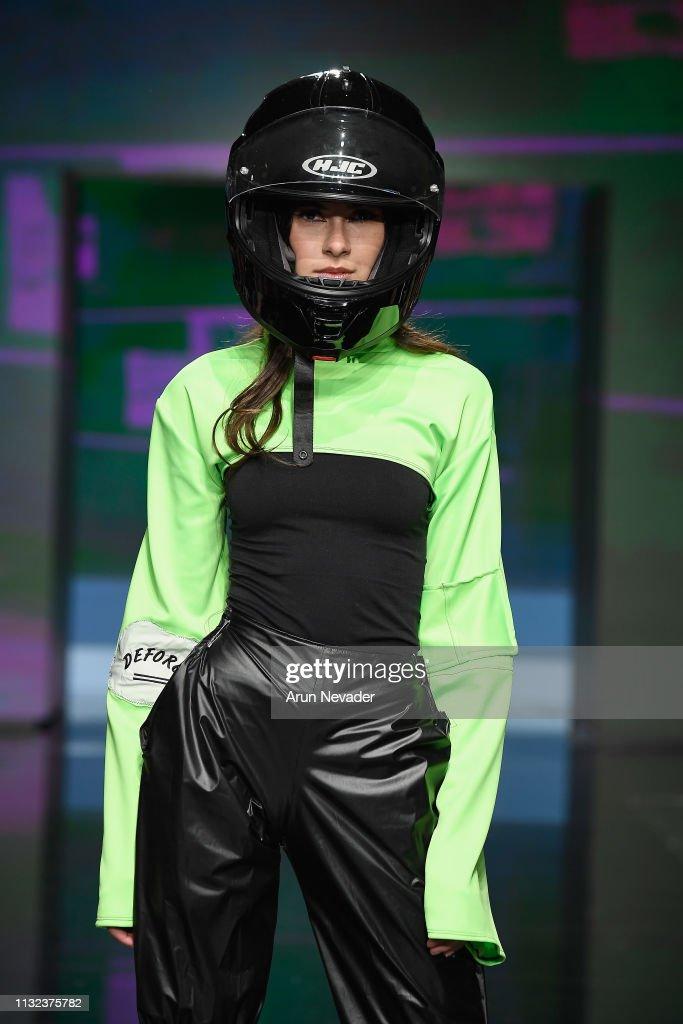 CA: Victoria Crawford at Los Angeles Fashion Week FW/19 Powered by Art Hearts Fashion