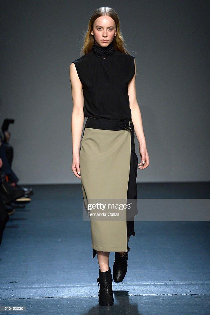 Zero + Maria Cornejo - Runway - Fall 2016 New York Fashion Week : News Photo