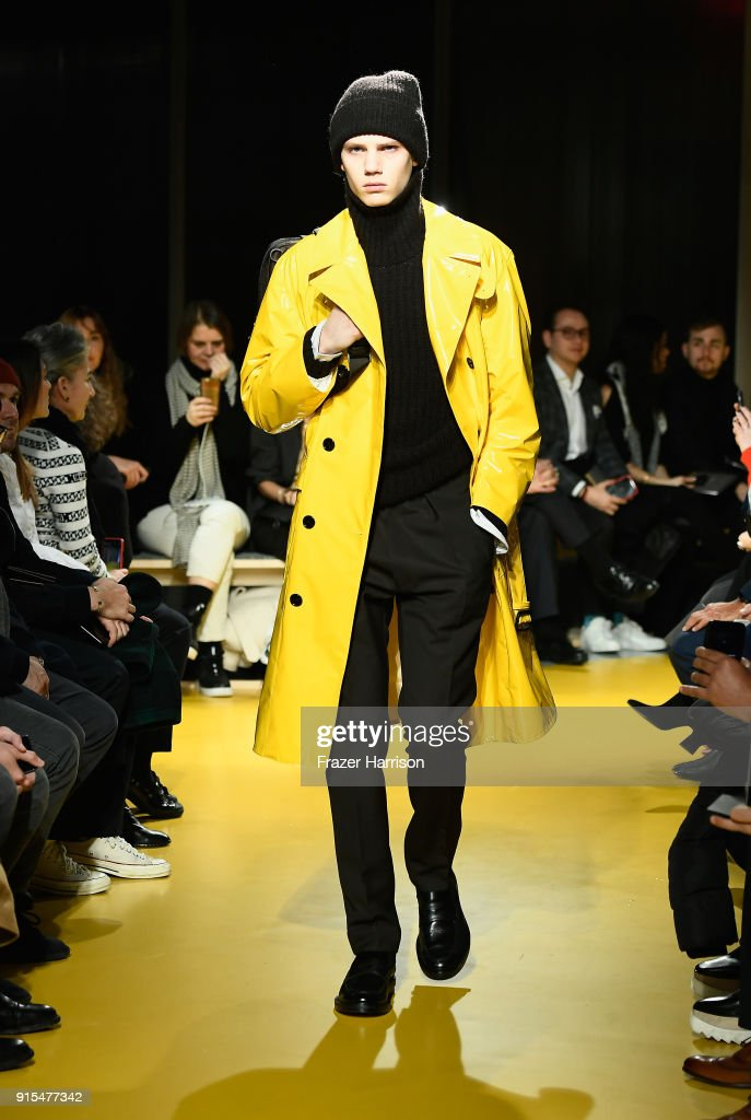 BOSS Menswear - Runway - February 2018 - New York Fashion Week Mens' : ニュース写真