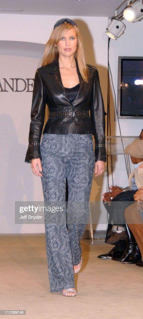 A model wearing a creation from the Escada Fashion range