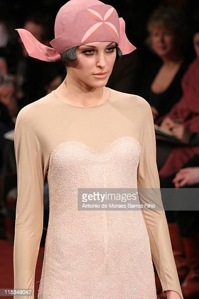 Model wearing Alena Akhmadullina Autumn/Winter 2006