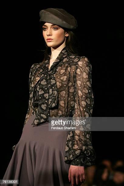 Model wearing Biba Fall/Winter 2007