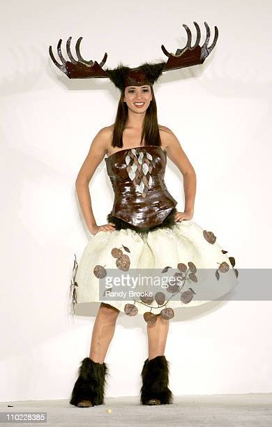 Model wearing Chocolate Moose by Diana English and Heather CarlucciRodgriguez