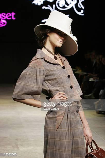 Model Wearing Designs by Chitra's Closet 2007 during Rosemount Australian Fashion Week Transeasonal 2007 - New Generation - Runway at St Kilda Baths...