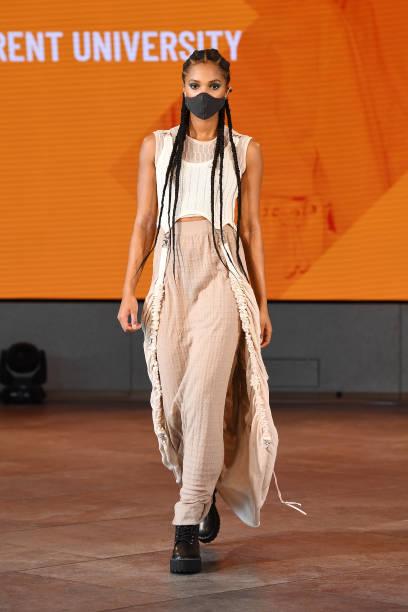 GBR: Graduate Fashion Week - Runway - LFW September 2020