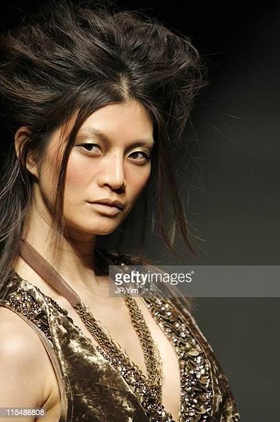 Model wearing doho Fall/Winter 2007 during Tokyo Fashion Week Fall/Winter 2007 - doho - Runway at The Nihombashi tent NORTH in Tokyo, Japan.