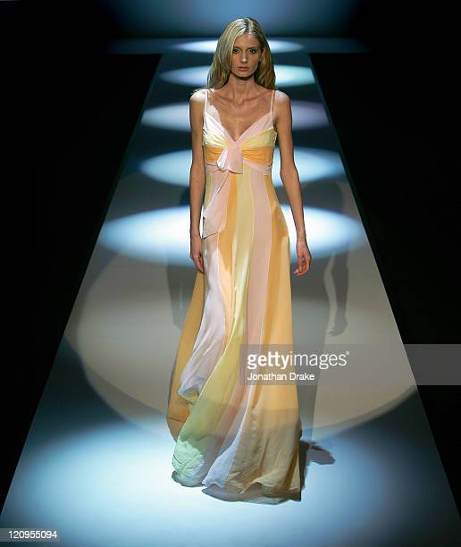 Model wearing Escada Spring/Summer 2006 during Singapore Fashion Festival 2006 - Escada - Runway at The Tent at Ngee Ann City, Orchard Road in Ngee...