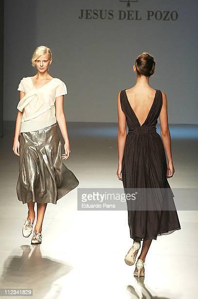 Model wearing Jesus del Pozo during Madrid Fashion Week Spring/Summer 2006 - Jesus del Pozo - Runway at Madrid Fashion Week - 2006 SpringSummer in...