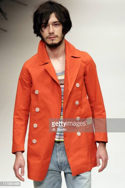 Model wearing KINGLY THEATRE PRODUCTS Spring/Summer 2006