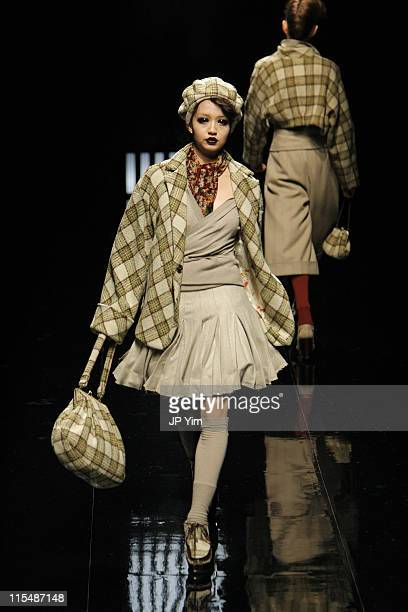 Model wearing LILITH Fall/Winter 2007 during Tokyo Fashion Week Fall/Winter 2007 - LILITH - Runway at The Nihombashi tent South in Tokyo, Japan.