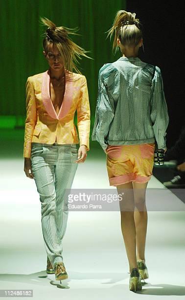 Model wearing Locking Shocking Spring/Summer 2007