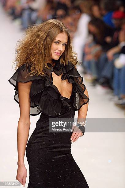 Model wearing Miguel Vieira Autumn/Winter 2005/2006