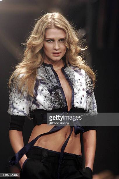 Model wearing Miguel Vieira Autumn/Winter 2006/2007
