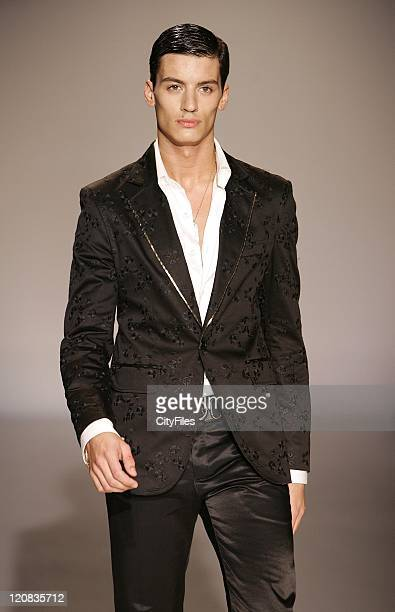 Model wearing Miguel Vieira Spring/Summer 2007 during Portugal Fashion Week Spring/Summer 2007 Miguel Vieira – Runway in Oporto Portugal